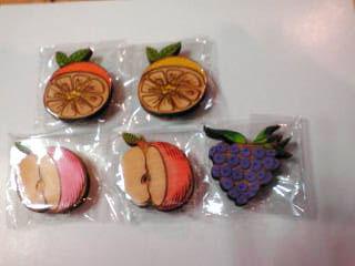 野菜・フルーツマグネット