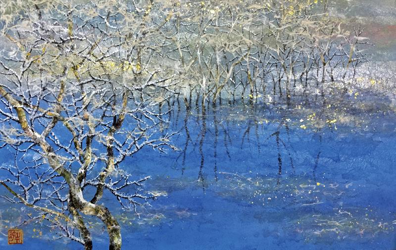 山下純一郎「凛冽の湖」